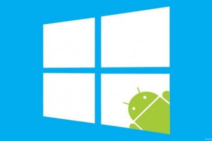 windows android - TechOne3 - IDGNS