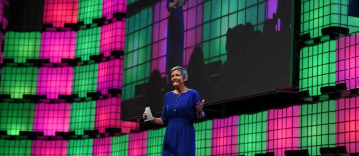 Margrethe Vestager, comissária Europeia para a Concorrência