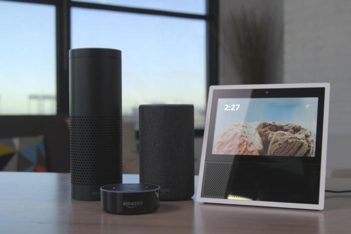 Gama Echo da Amazon