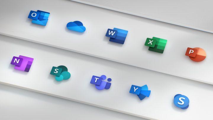 Novos ícones Fonte: Microsoft
